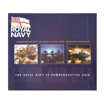 2003 £5 BU Coin Pack – The Royal Navy